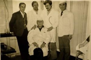 Djelatnici hitne medicinske pomoći u Slavonskom Brodu sredinom sedamdesetih